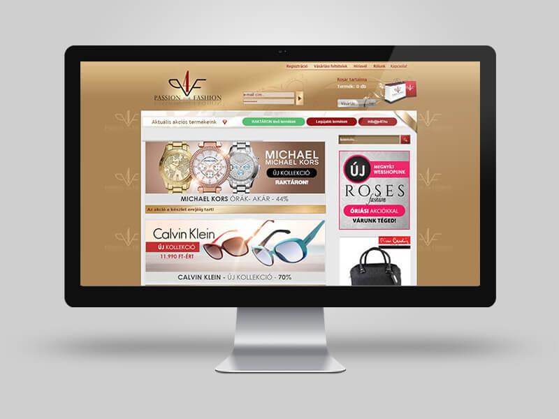 Passion4fashion webáruház