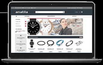 Anatila - Webáruház készítés