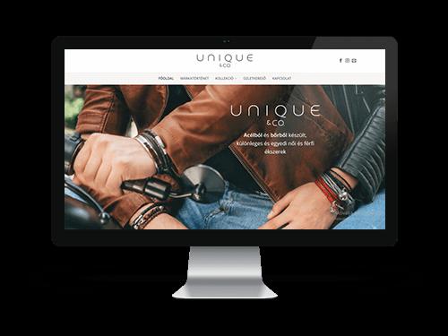 Anatila- Cégbemutató és katalógus webpage készítés