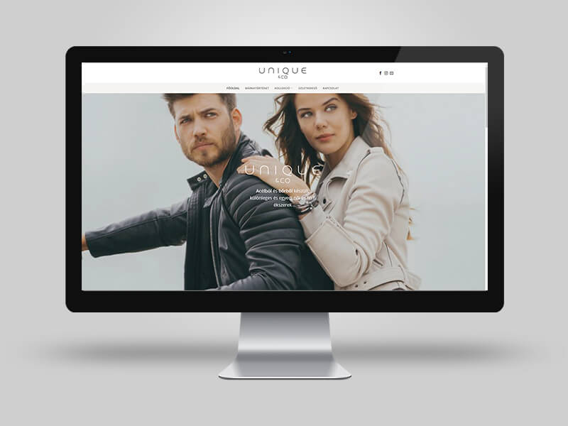 Uniqueandco online katalógus oldal