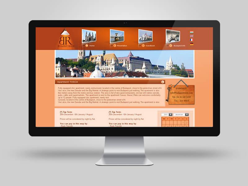 BudapestRoom - cégbemutató weblapok készítése