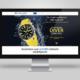 Festina - Diver Collection Landing page tervezés