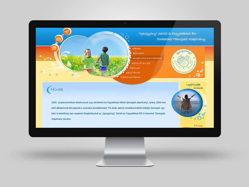 Cégbemutató weboldal fejlesztés