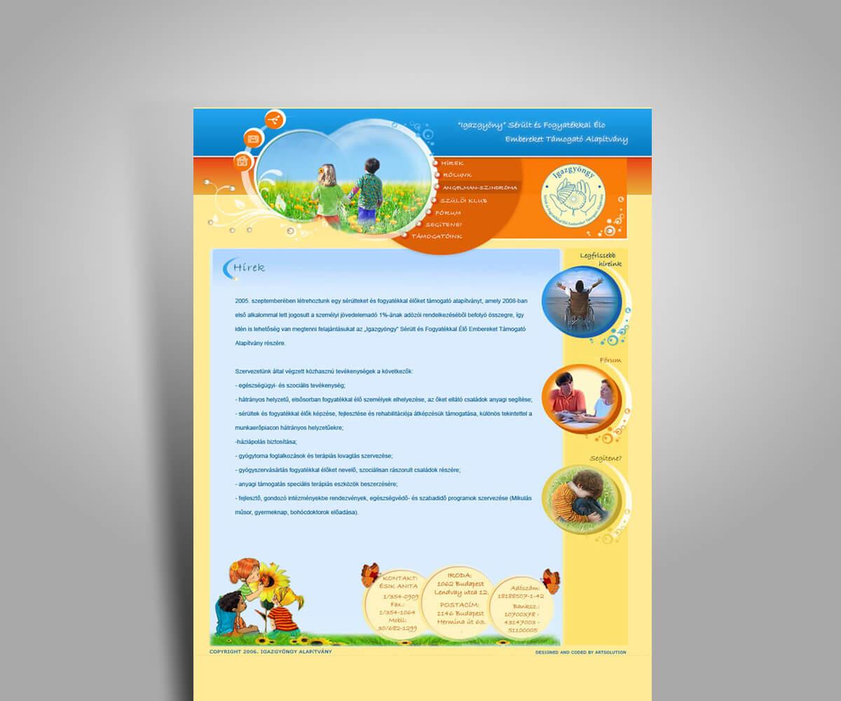 Cégbemutató weboldal fejlesztés - mobilbarát weboldal tervezés