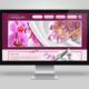 Műkörömépítés bemutatkozó weboldal - mobilbarát weboldal tervezés