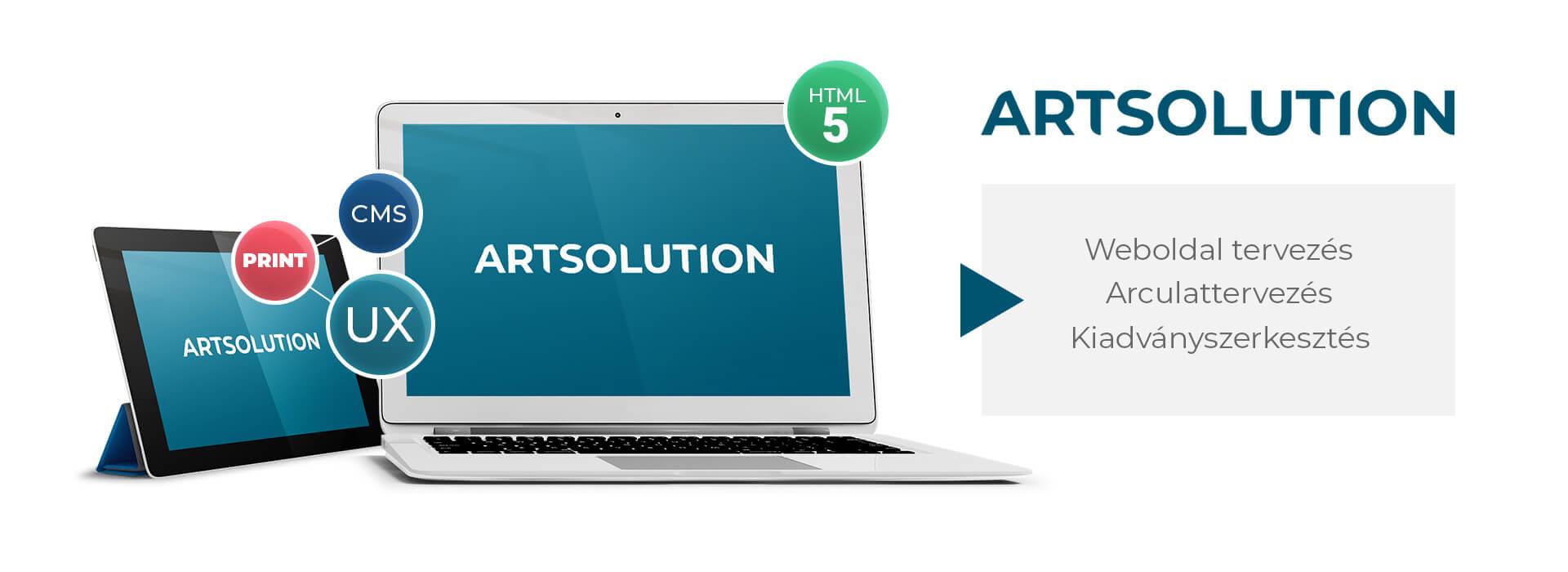 Artsolution - Weboldal tervezés, arculattervezés, kiadványszerkesztés, reklámgrafika